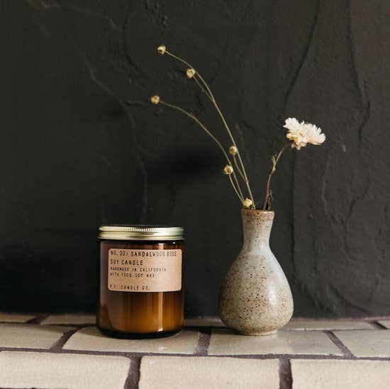 Sandalwood Rose Soy Candle - BOMSHELL BOUTIQUE