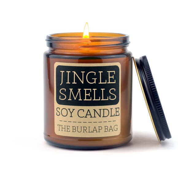 Jingle Smells Soy Candle by The Burlap Bag
