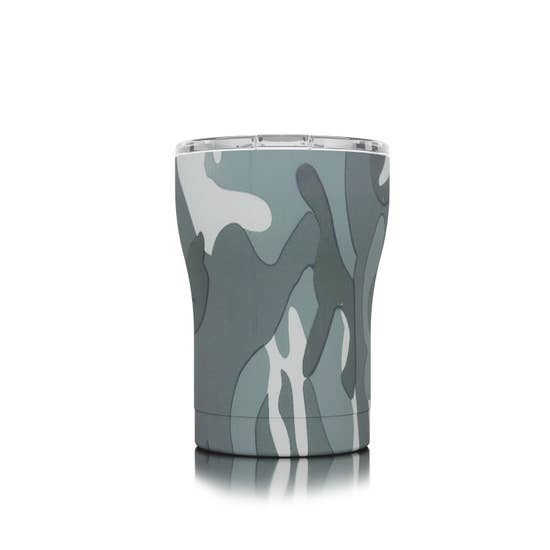 12 oz Grey Camo SIC Cup - BOMSHELL BOUTIQUE