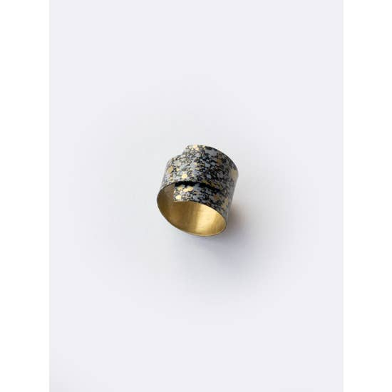 Black Wrap Ring - BOMSHELL BOUTIQUE
