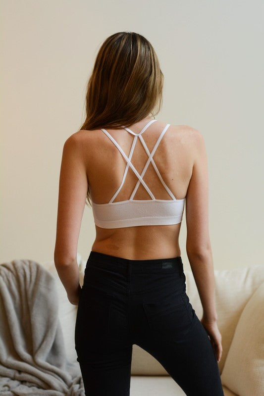 Seamless Double Strap Bralette - Other Colors Available
