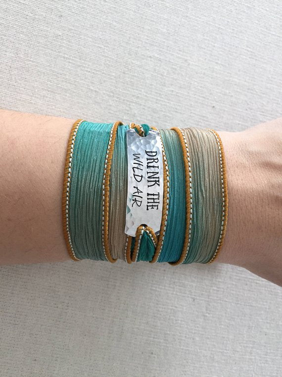 Drink The Wild Air Wrap Bracelet - BOMSHELL BOUTIQUE