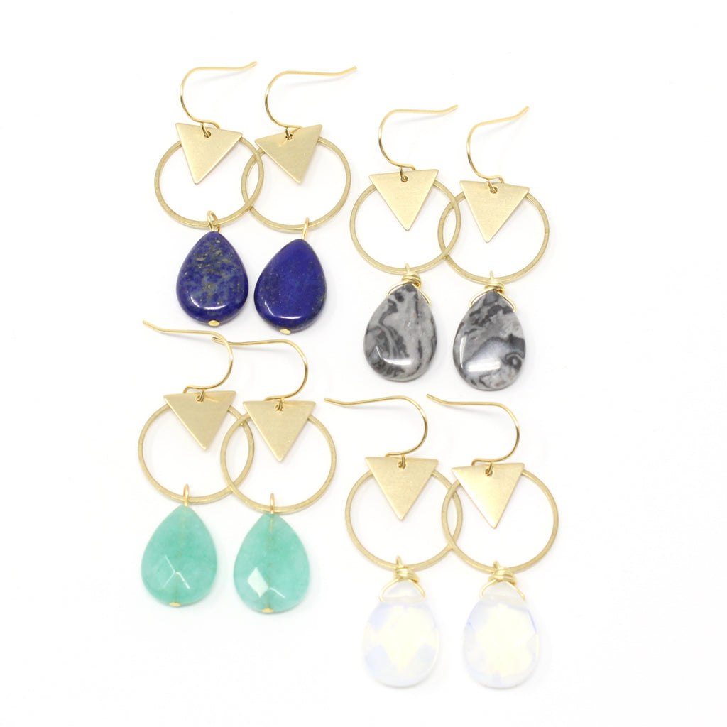 Crafts & Love - Cove Earrings - BOMSHELL BOUTIQUE