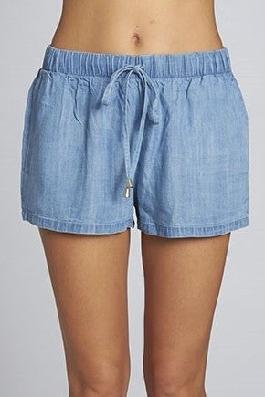 Tencel Drawstring Short