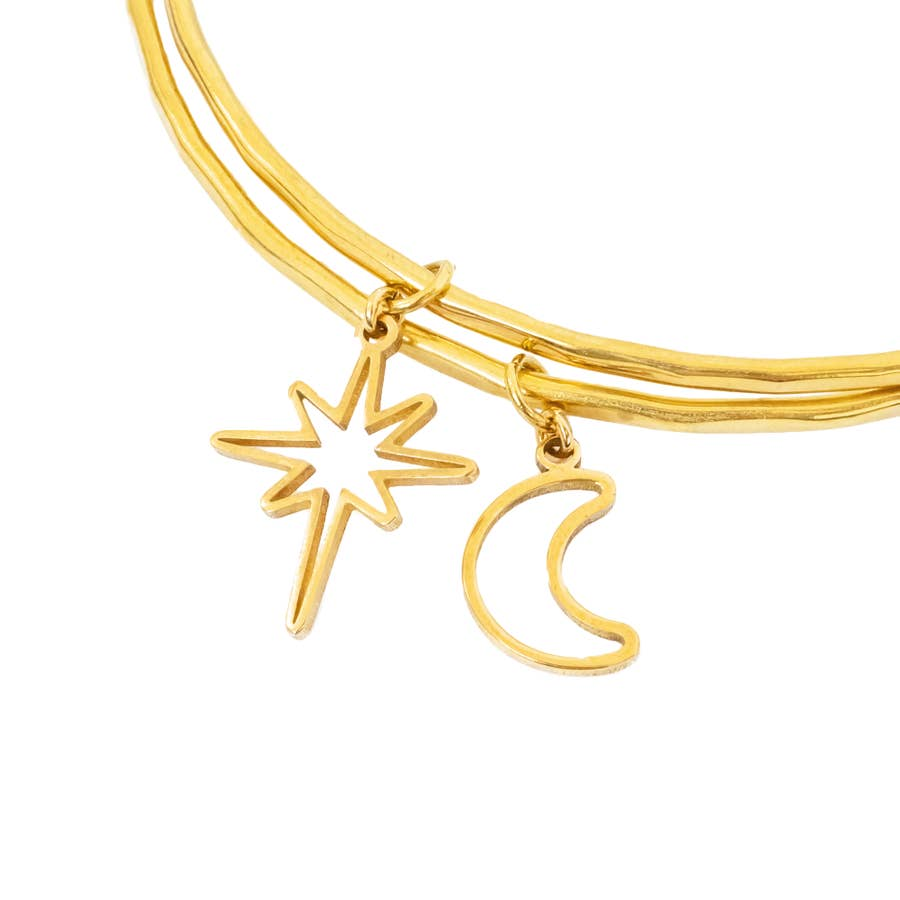 Purpose Jewelry Moon Light Bangle - BOMSHELL BOUTIQUE