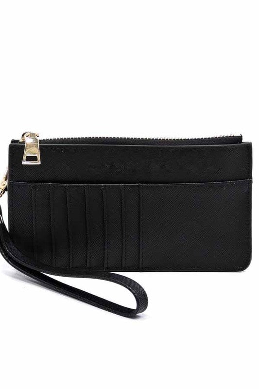 Hollie Wallet in Black - BOMSHELL BOUTIQUE