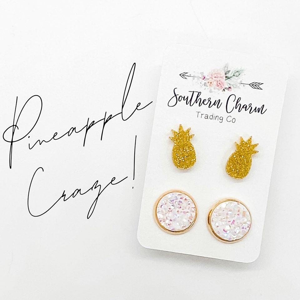 Pineapple Craze Earrings
