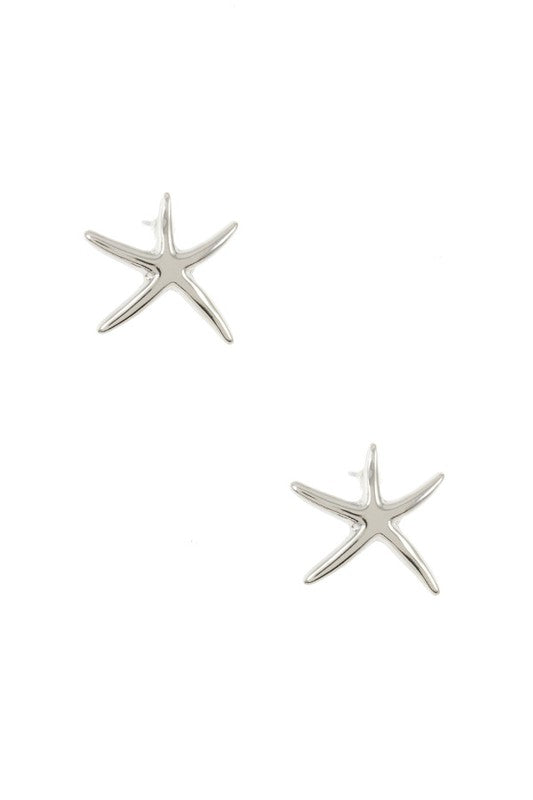 Starfish Earrings - BOMSHELL BOUTIQUE