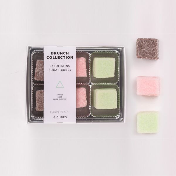 Harper + Ari - Exfoliating Sugar Cubes - Brunch Collection Gift Box - BOMSHELL BOUTIQUE