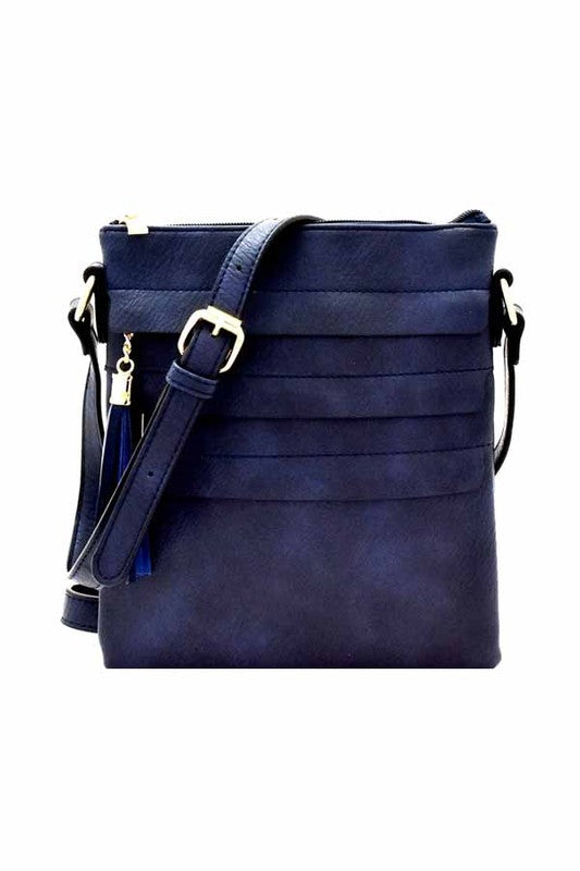Danni Bag in Navy Blue - BOMSHELL BOUTIQUE