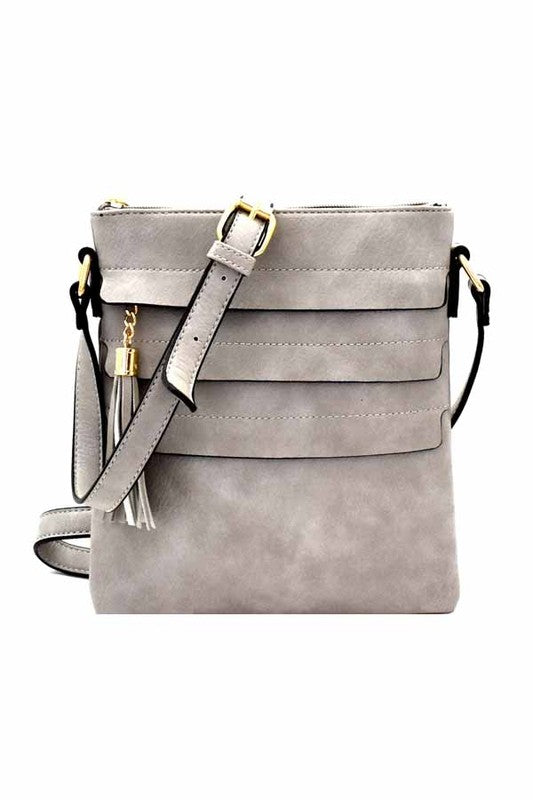 Danni Bag in Gray - BOMSHELL BOUTIQUE