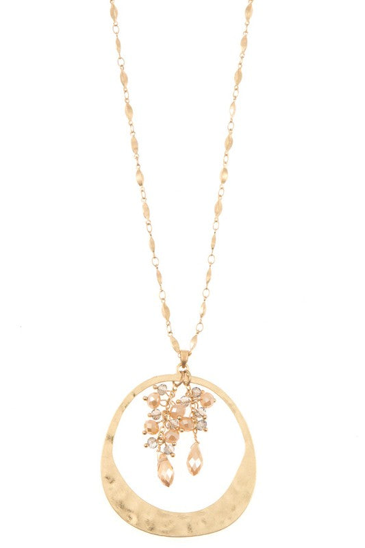Inner Circle Necklace - Champagne