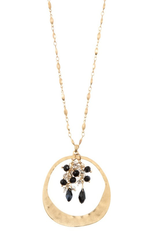 Inner Circle Necklace - Black - BOMSHELL BOUTIQUE