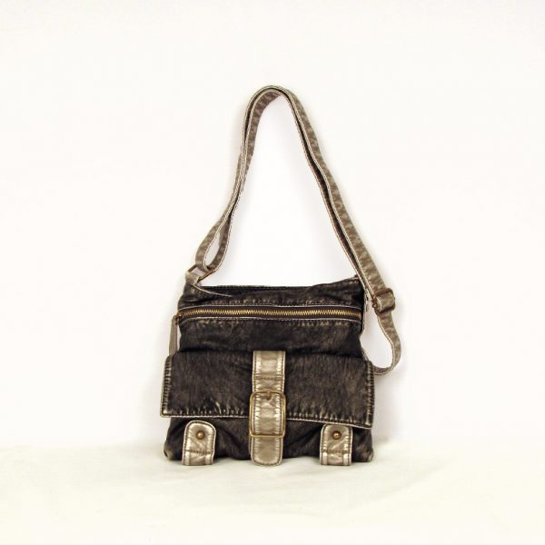 Gunmetal Crossbody Mini - BOMSHELL BOUTIQUE