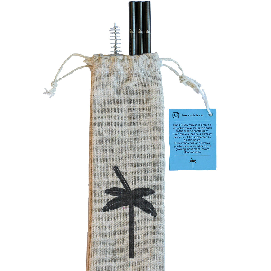 Fish Sand Straw Pack