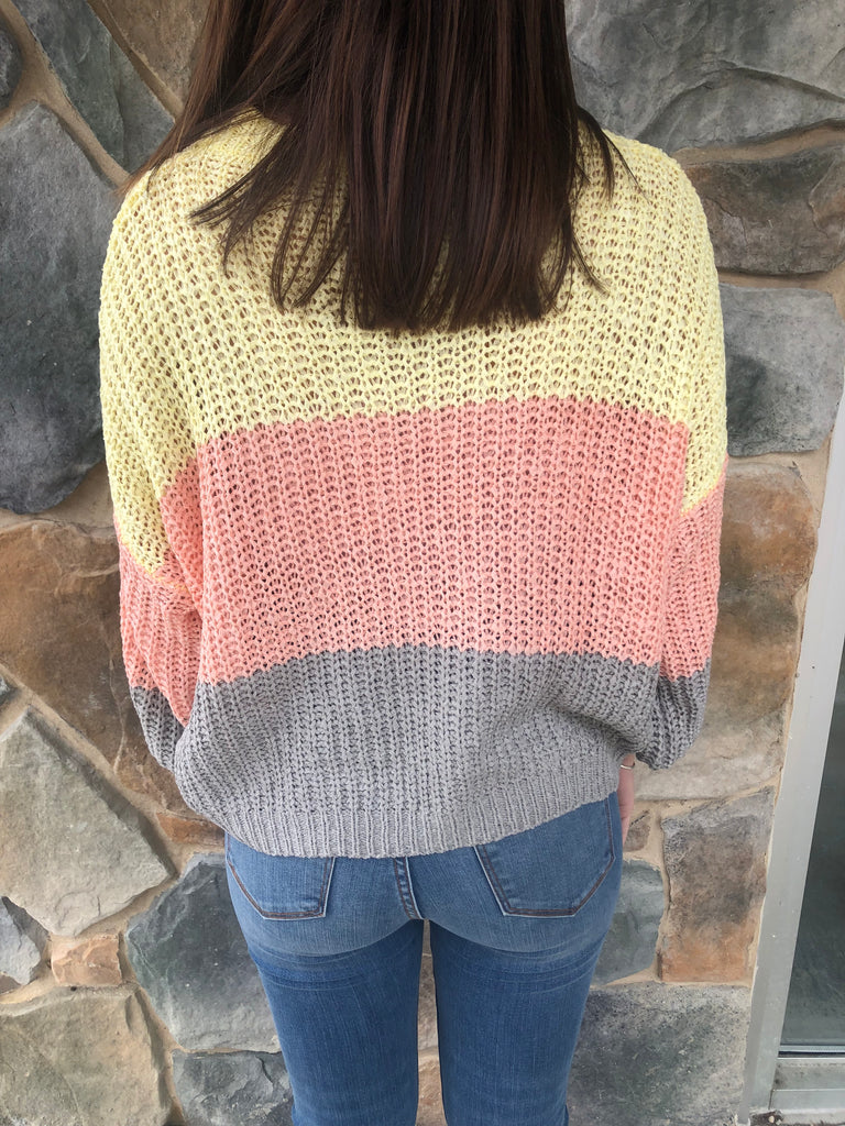 Layla Sweater in Yellow
