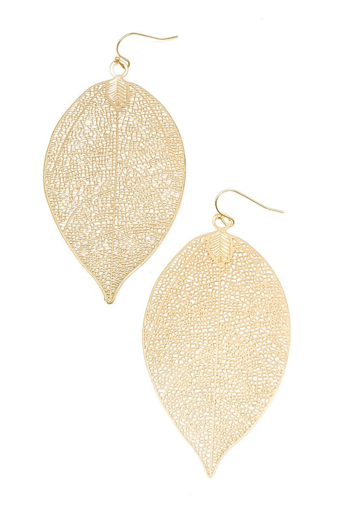 Ainsley Earrings-Gold - BOMSHELL BOUTIQUE