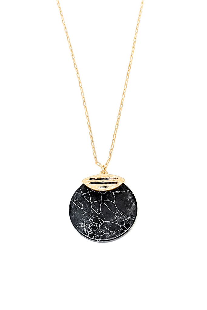 Jola Necklace-Black - BOMSHELL BOUTIQUE