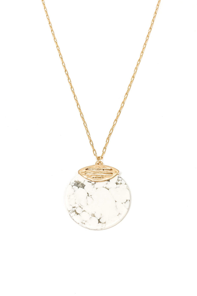 Jola Necklace-White - BOMSHELL BOUTIQUE