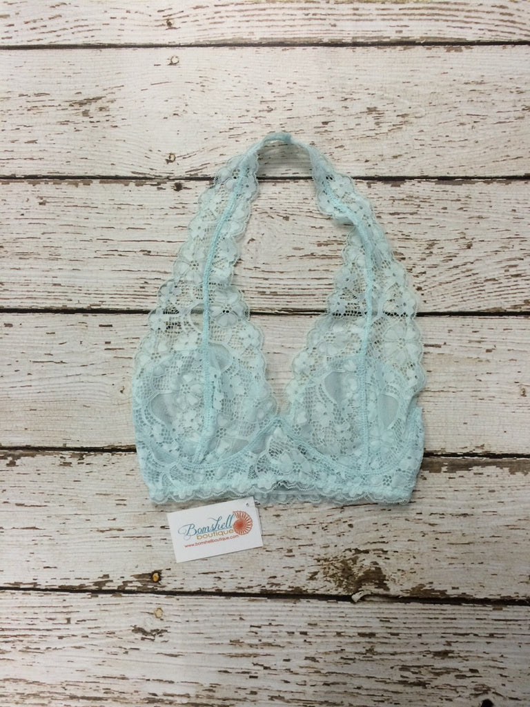 Lace Bra / Bralette in Mint - BOMSHELL BOUTIQUE