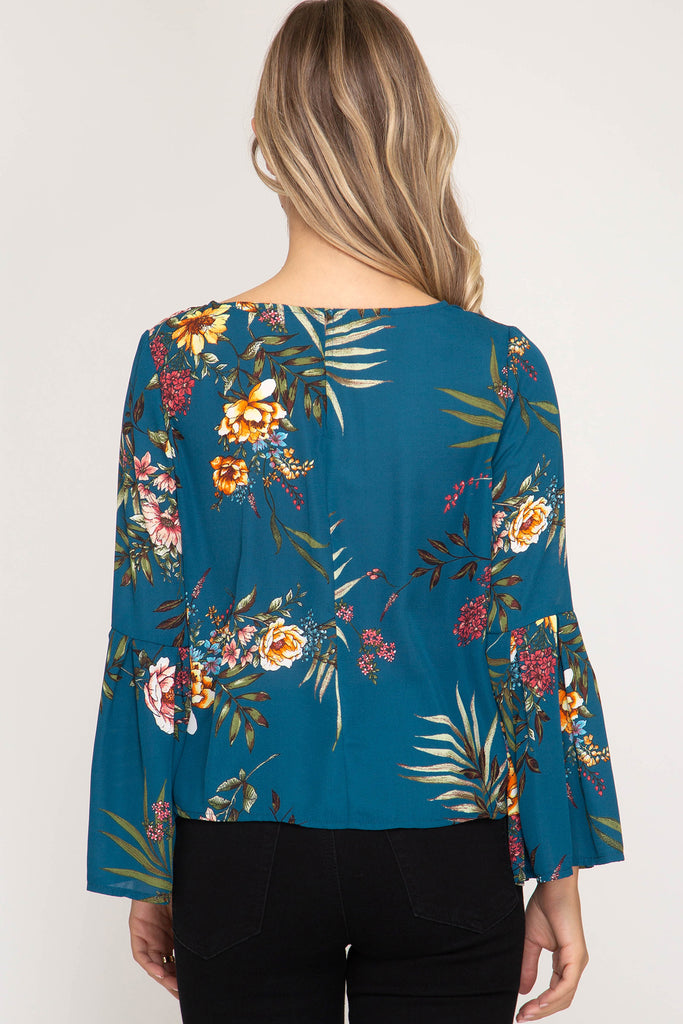 Special Delivery Floral Top