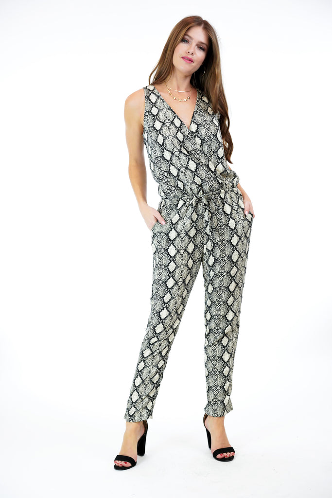 Veronica M Woven Jumpsuit in Mariela