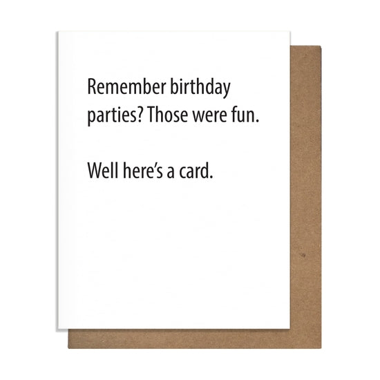 Remember Bdays Greeting Card