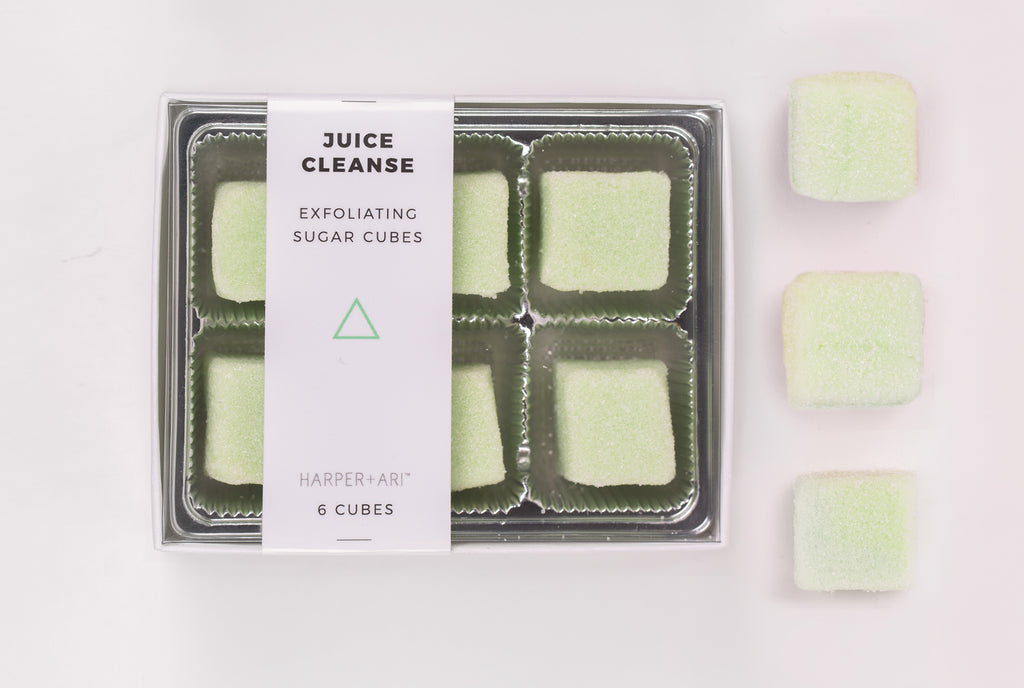 Harper + Ari - Exfoliating Sugar Cubes - Juice Cleanse Gift Box - BOMSHELL BOUTIQUE