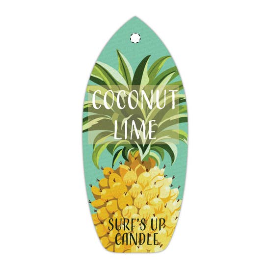 Coconut Lime Pineapple Air Freshener - BOMSHELL BOUTIQUE