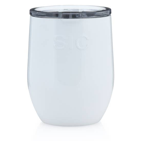 16 oz Stemless Ice White