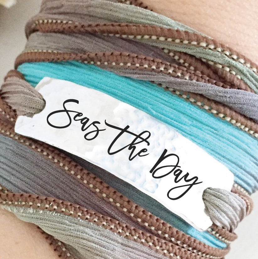 Seas The Day Wrap Bracelet - BOMSHELL BOUTIQUE