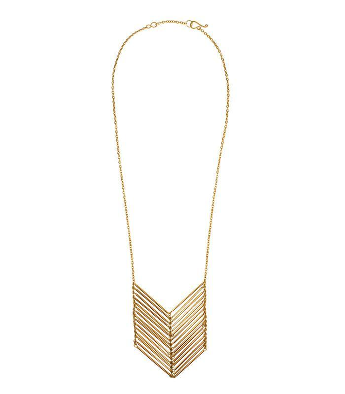 Chevron Necklace by Purpose - BOMSHELL BOUTIQUE