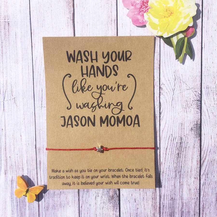 Wash Your Hands like you are washing Jason Momoa- Quarantine Collection - BOMSHELL BOUTIQUE