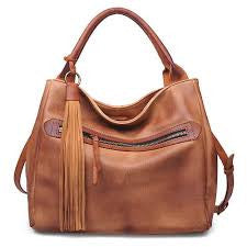 Mason Satchel in Tan