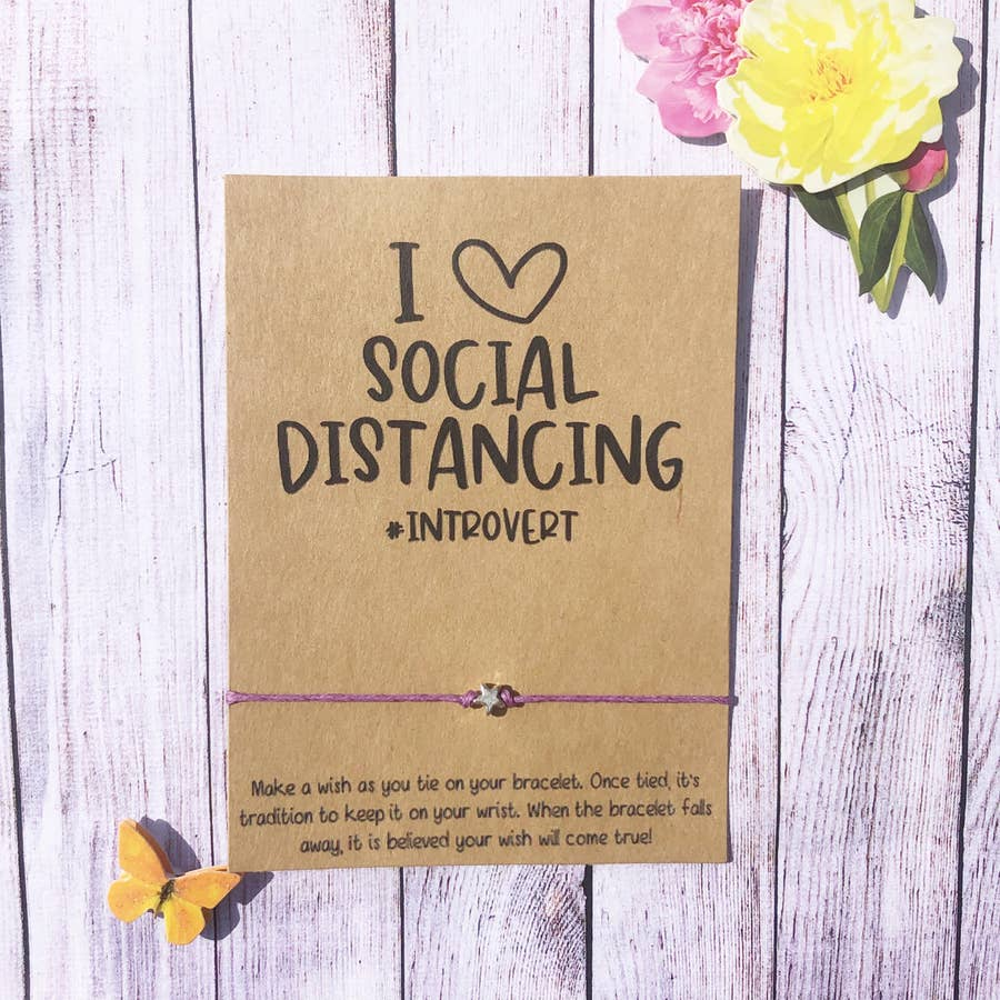 I Love Social Distancing #introvert - Quarantine Collection - BOMSHELL BOUTIQUE