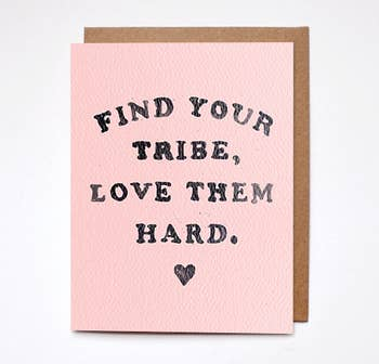 Find Your Tribe Card - BOMSHELL BOUTIQUE