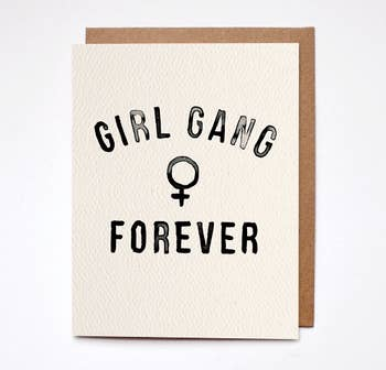 Girl Gang Forever Card - BOMSHELL BOUTIQUE