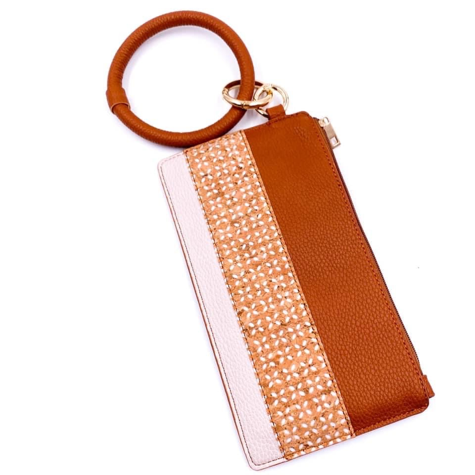 Fashionable and Fun Keychain Wallet - Color Options Avaliable