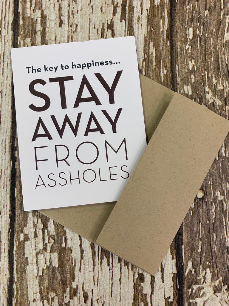 The key to happiness card - BOMSHELL BOUTIQUE