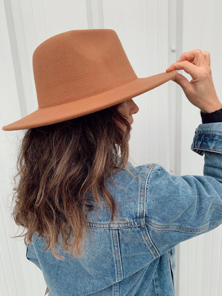 The Billings Hat-Brown - BOMSHELL BOUTIQUE