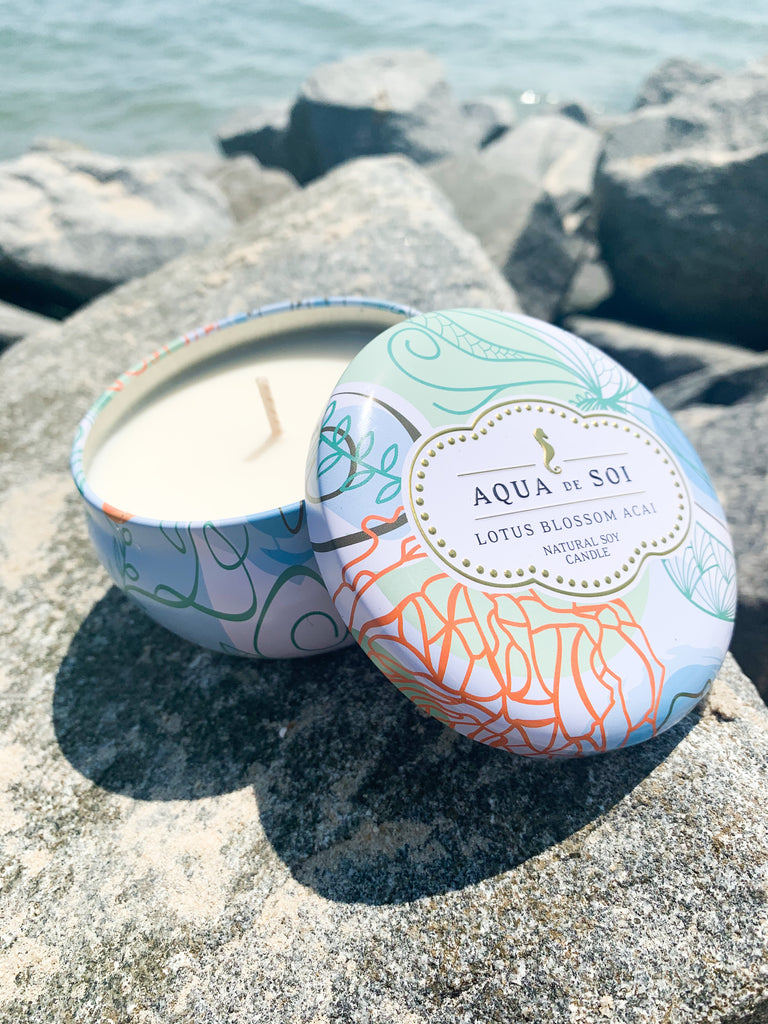 Aqua de Soi Candles 9 oz - BOMSHELL BOUTIQUE
