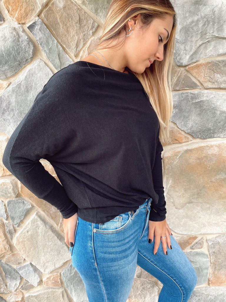 Downtown Walk Off The Shoulder Top - BOMSHELL BOUTIQUE