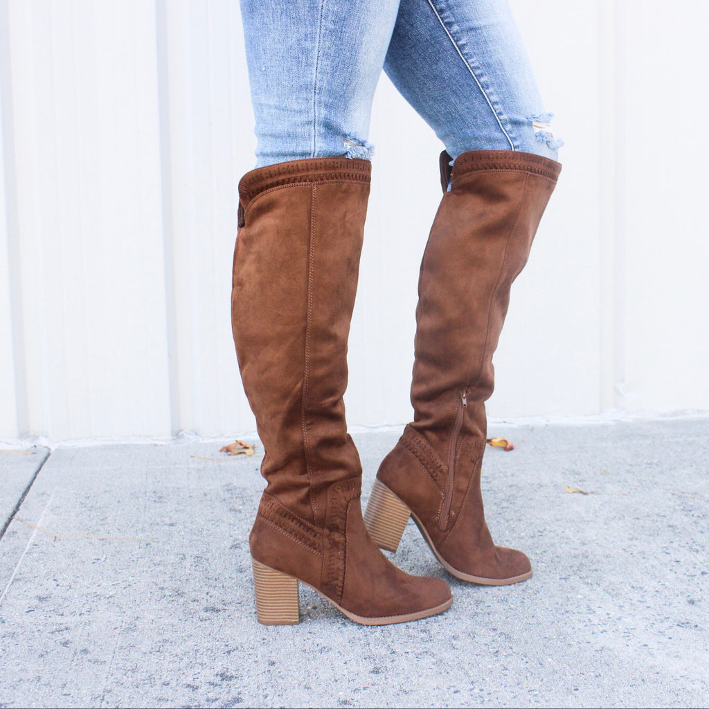 Viva Boot in Chestnut - BOMSHELL BOUTIQUE