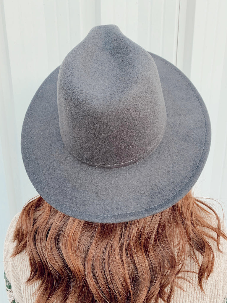 The Billings Hat- Dark Grey