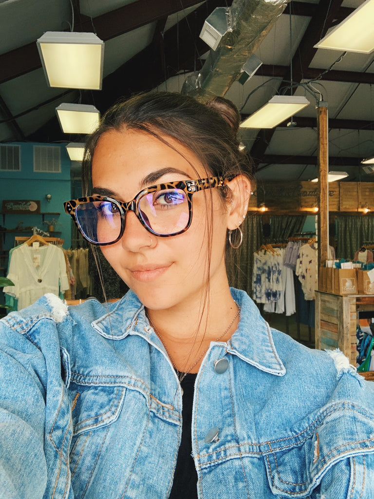 Blue Light Glasses-Giraffe - BOMSHELL BOUTIQUE