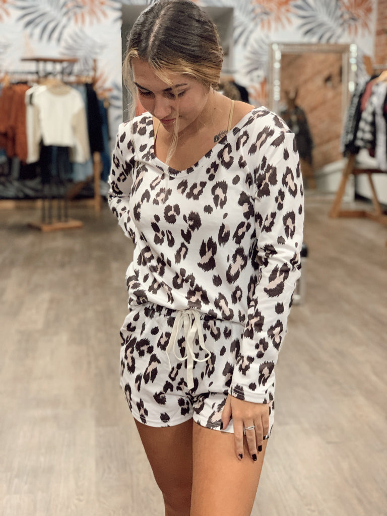 Lottie Leopard Set - BOMSHELL BOUTIQUE