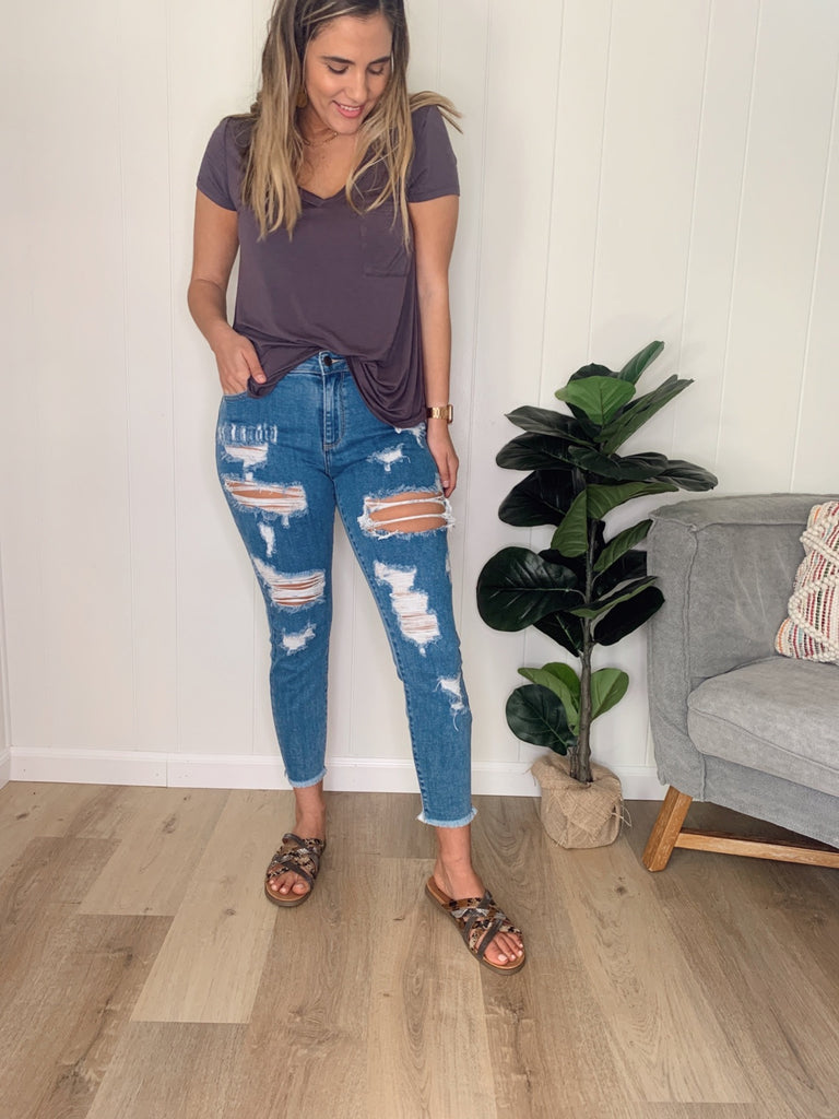 Dylan Distressed Jeans by Cello