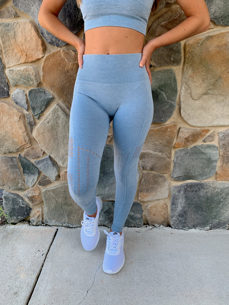 Lyla Seamless Highwaisted Leggings - BOMSHELL BOUTIQUE