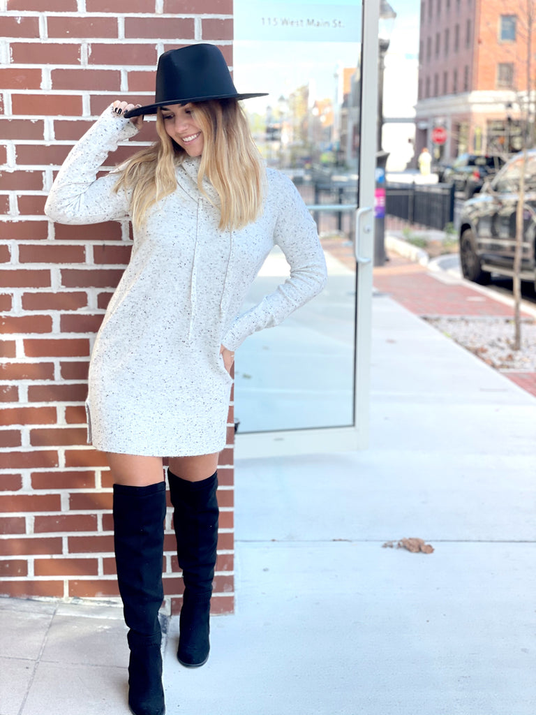 Vineyard Views Sweater Dress - BOMSHELL BOUTIQUE