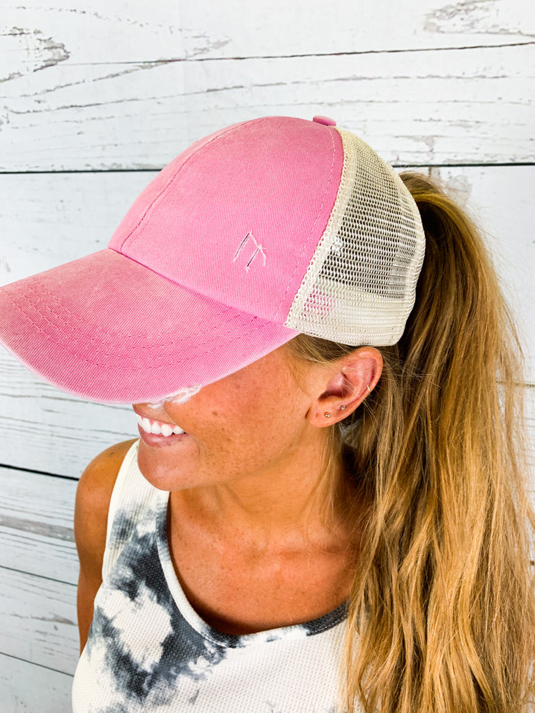 The Crissy Hat- Pink
